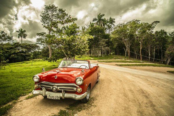cuba, oldtimer, old car