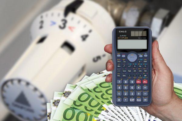 cost, calculator, euro