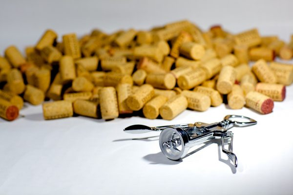 corks, corkscrew, screw