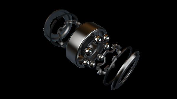 ball bearings, rolling bearings, stock