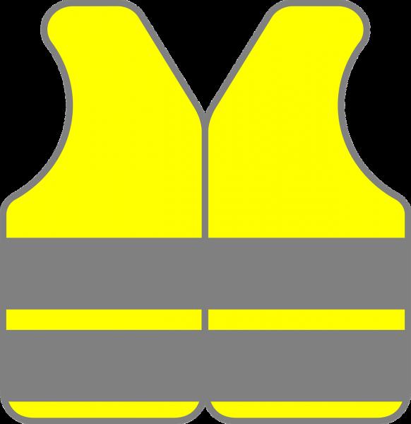yellow jacket, safety vest, reflective vest