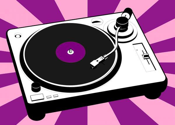 turntable, vinyl, music