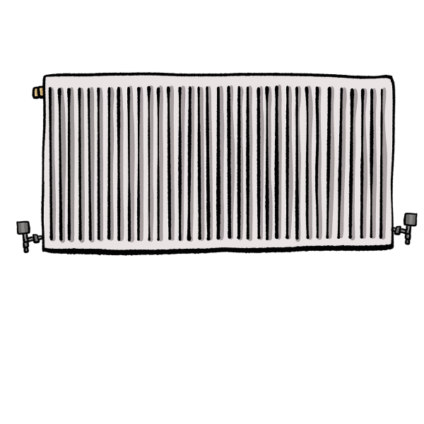 radiator, heating, thermostat