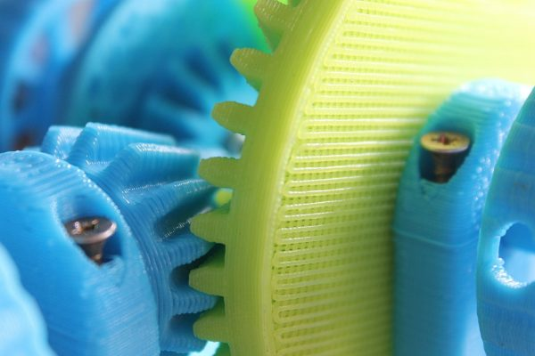 the mechanism of, differential, 3d printer