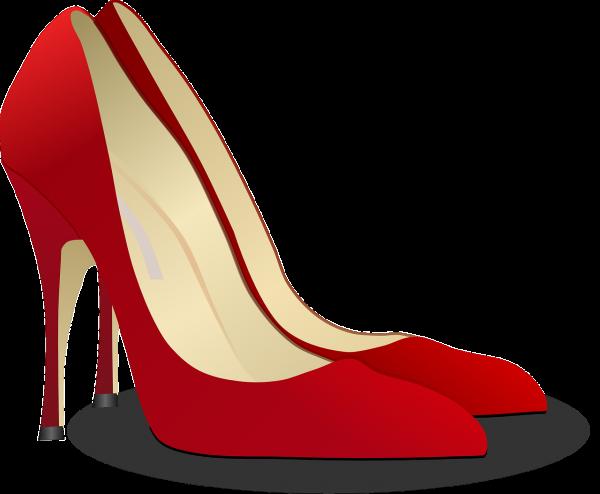 pumps, high heeled shoe, stack-heel shoe