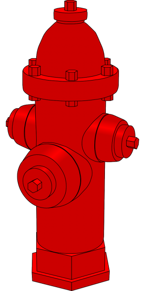 water hydrant, extinguish, burn