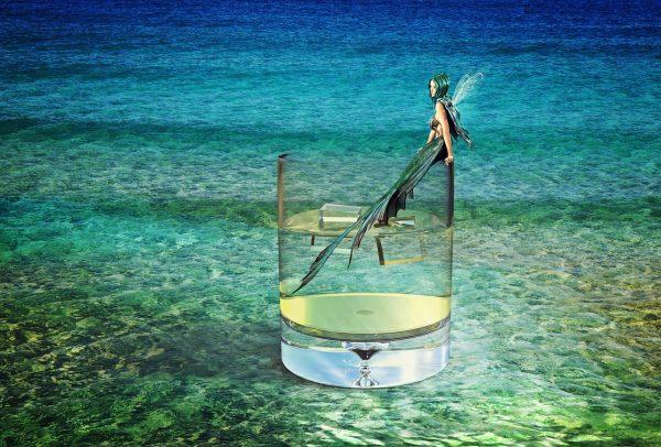 mermaid, sea, water
