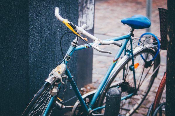 bicycle, parked, bike